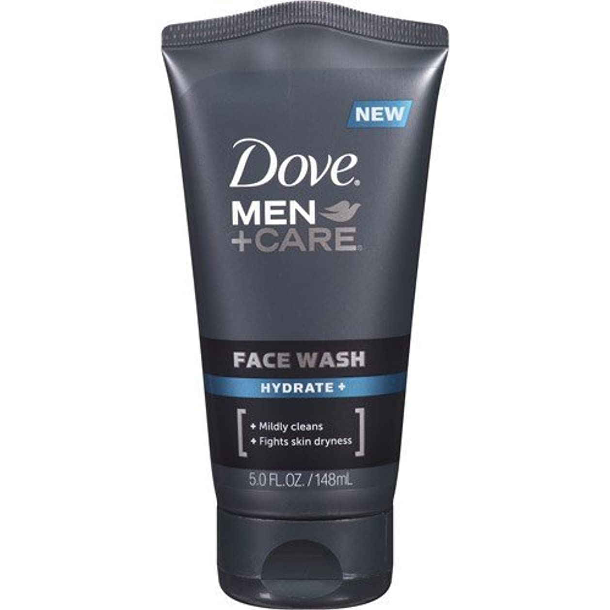 分泌する所有者干渉Dove Men + Care Face Wash, Hydrate, 5 Oz by Dove