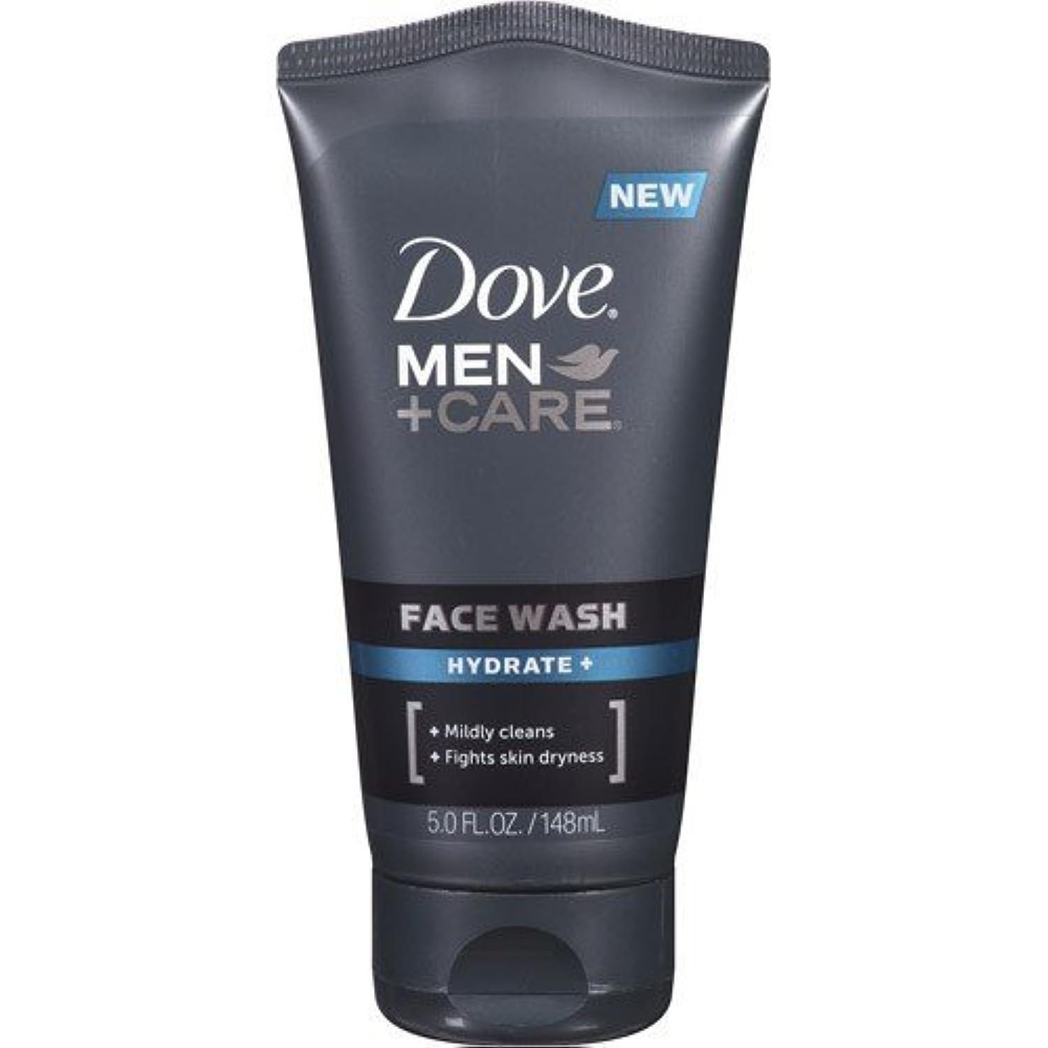 どちらも罪悪感戸惑うDove Men + Care Face Wash, Hydrate, 5 Oz by Dove