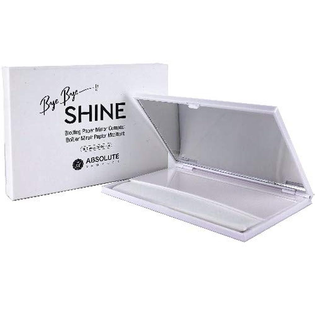 確率反論パパ(6 Pack) ABSOLUTE Bye Bye Shine Blotting Paper Mirror Compact (並行輸入品)