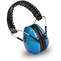 Ems for Kids Hearing Protection Earmuffs - Blue. The Original Folding Children's Earmuff Since 2007. Use at Loud Events Including NASCAR, air Shows, Concerts, Festivals and More!