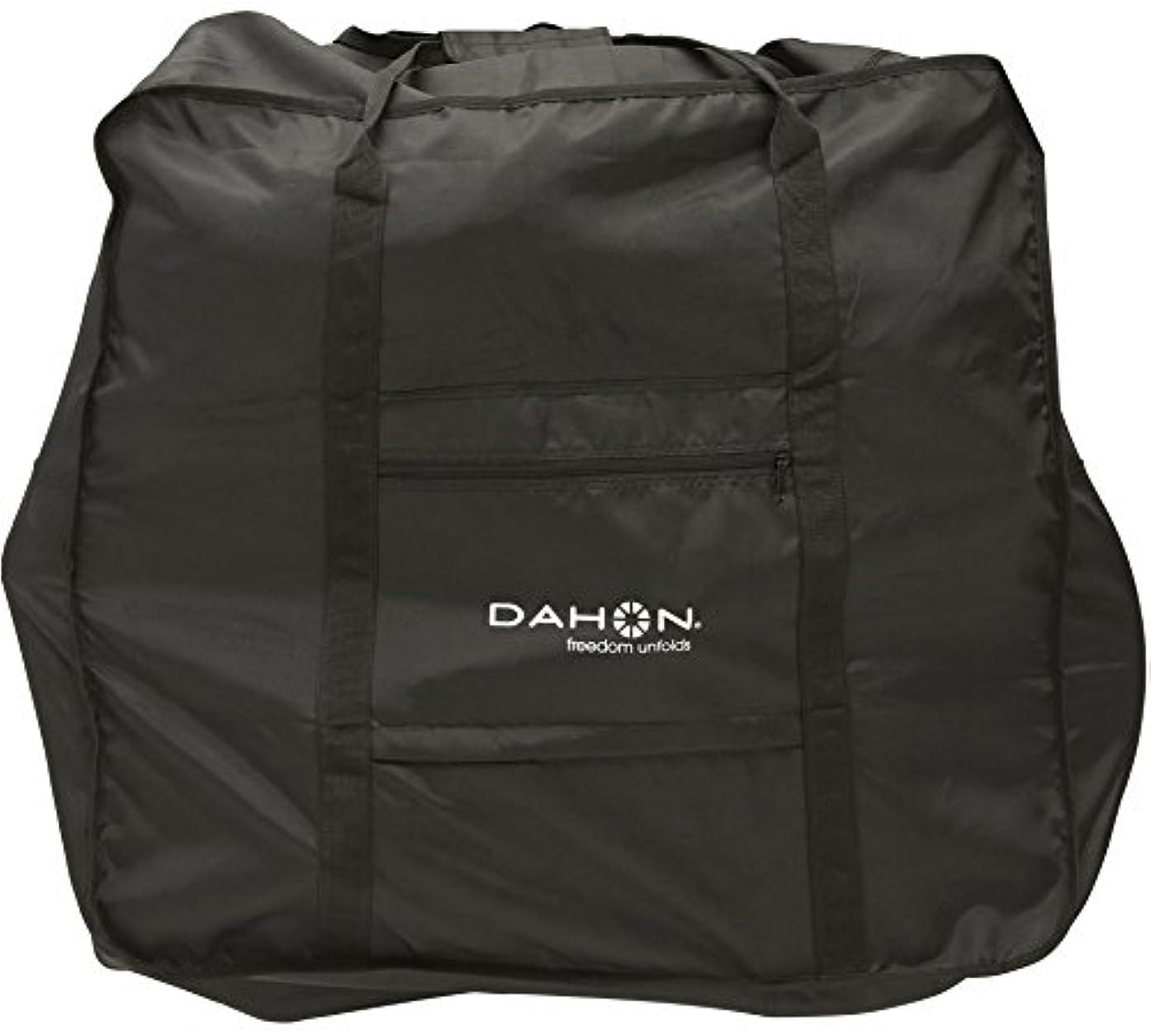 拍手追放するやさしいダホン(DAHON) Easy Carry Bag(イージーキャリーバッグ) [DAHONインターナショナル 2018年モデル全車種対応] 輪行袋 ハンドル固定型収納ケース付き 完全収納タイプ ファスナー付き 型掛けベルト付き ブラック