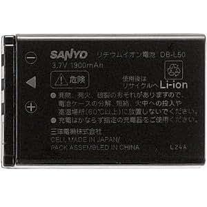 SANYO リチウムイオン電池 DB-L50