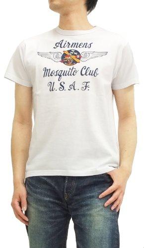 (バズリクソンズ) Tシャツ 空軍部隊 モスキート 東洋エンタープライズ メンズ 半袖tee br76371 白
