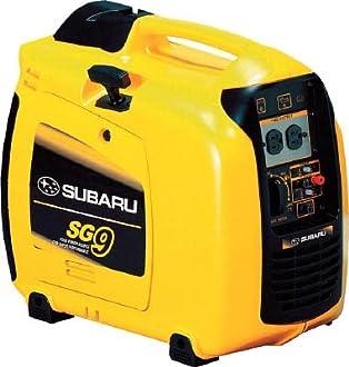 富士重工業 SUBARU ポータブル発電機 1台 SG9 SG9 1 台