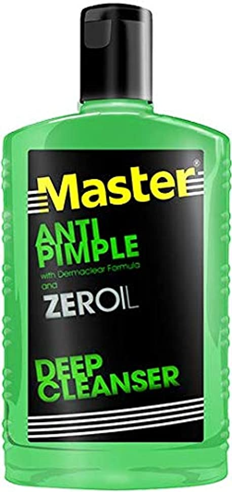 徴収悩み厚くするMaster ANTI PIMPLE ZEROIL 135ml【PHILIPPINES】