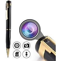 スパイペン型カメラ、ミニ監視DVR ポータブルペン HD1080 隠しカメラ ビデオと写真機能付きカメラ(Best Lifes)