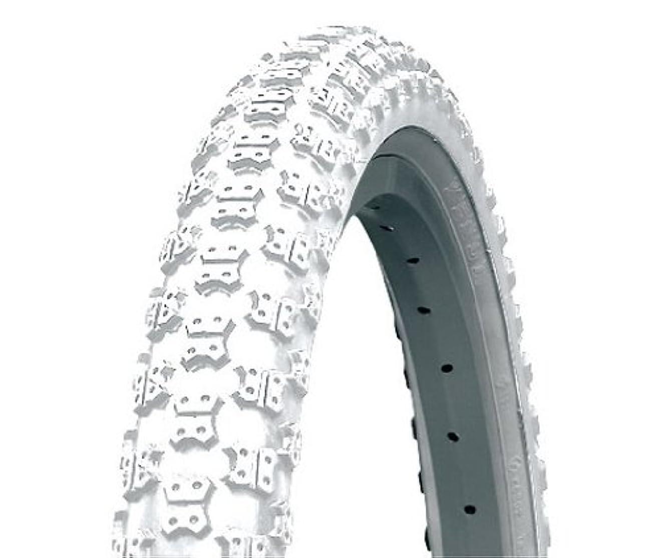 十二サイトラインキャッチKenda K050 Bicycle Tyre - White, 16 Inch