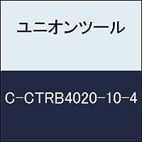 ユニオンツール 超硬エンドミル テーパボール R1×刃長10×片角 2°CCTRB4020104