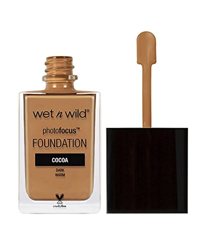 香水砲兵ハッピーWET N WILD Photo Focus Foundation - Cocoa (並行輸入品)