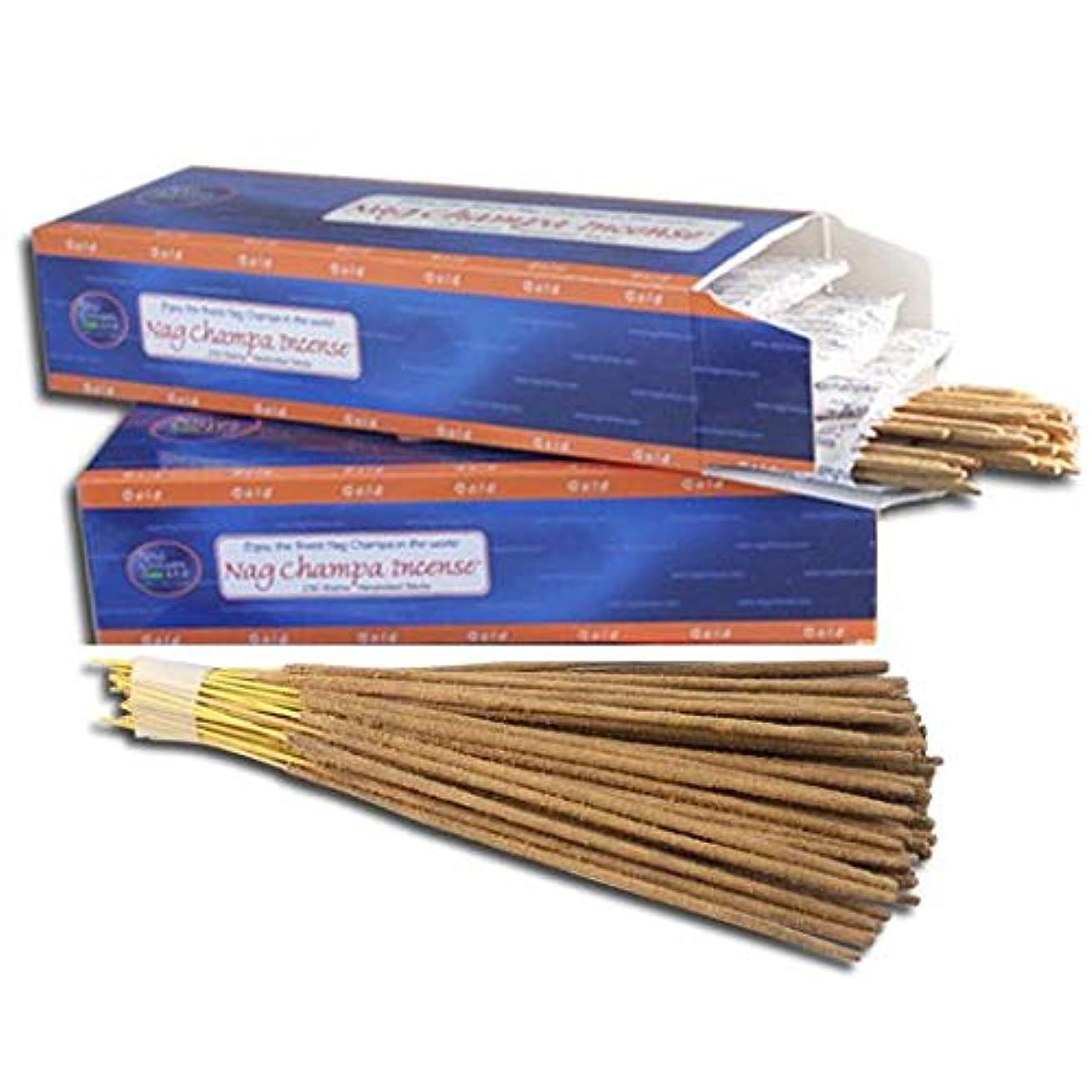エコーコメンテーターペインティングNag Champaゴールドincense-バルク500 Sticks Pack with Freeホルダー