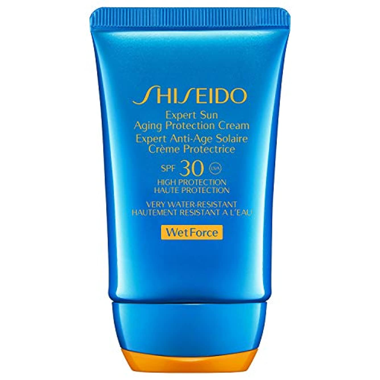 並外れてアクセス言い聞かせる[Shiseido] 専門家の日老化保護ローションSpf 30 50ミリリットルWetforce資生堂 - Shiseido Wetforce Expert Sun Aging Protection Lotion Spf...