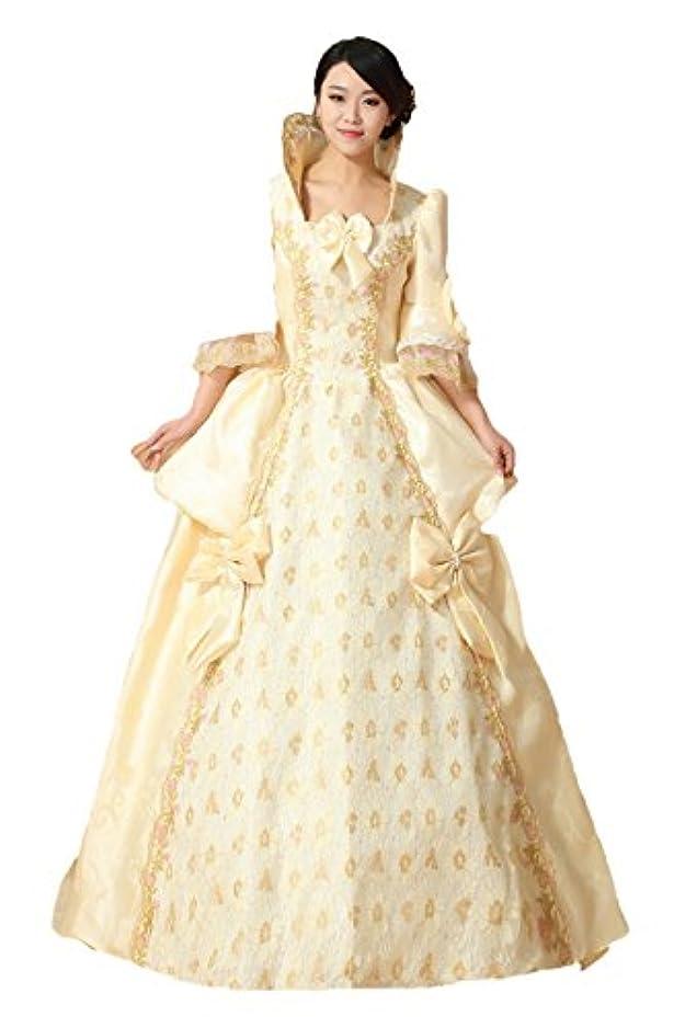 豊富に抹消納税者貴族お嬢様風 花嫁 洋装ワンピース 中世ヨーロッパ系 プリンセス 巫女 王女様 ドレス ワンピース コスチューム
