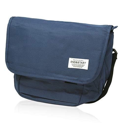 BLUE SINCERE ショルダーバッグ メンズ 大容量 斜めがけ ワンショルダー バッグ カバン A4 SHB2‐NV