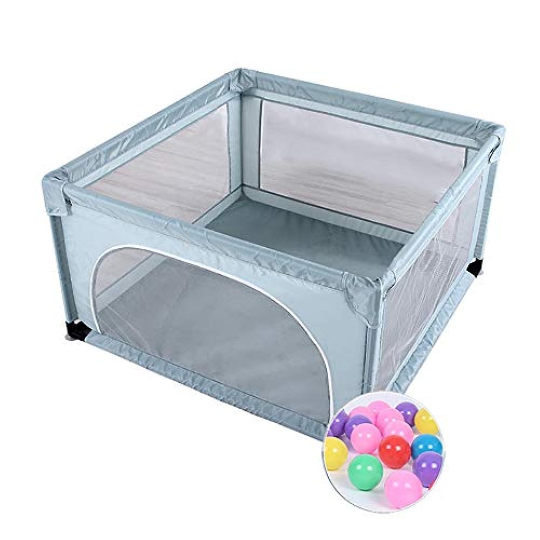 ベビーサークル 正方形の赤ちゃんの遊び場ボール屋内遊び場ゲームフェンス幼児クロールマット安全フェンス