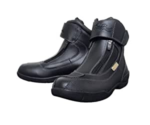 シンプソン(SIMPSON) Angel Hearts Short Boots Black 24 SPB-061L