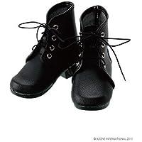 48/50cm用 50編み上げショートブーツ ブラック(ドール用衣装)