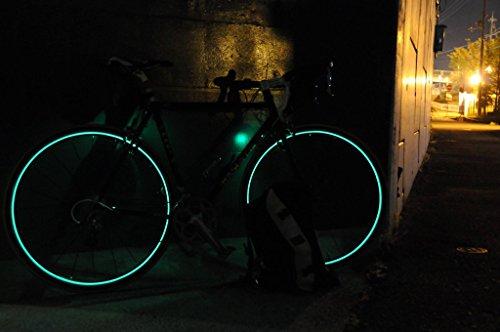 LOOPS LIGHT 自転車用1台分セット (ディープリム専用 ブルーグリーン)
