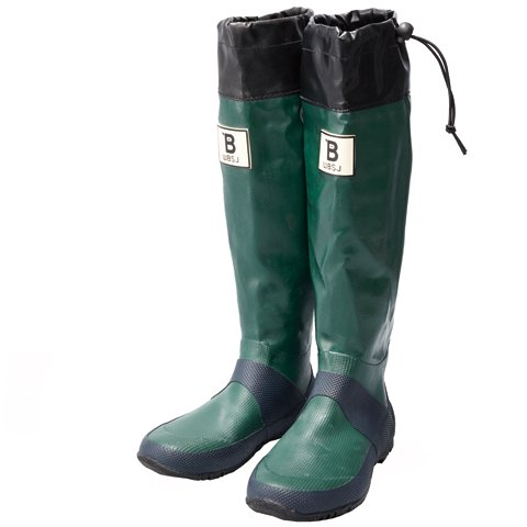 [日本野鳥の会] Wild Bird Society of Japan バードウォッチング長靴 グリーン 4L(29.0cm)