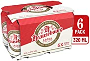 Krausebourg Lager Beer Can, 320ml (Pack of 6)