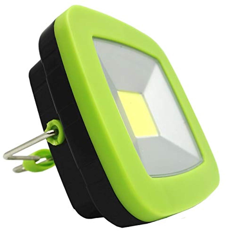 毎年影響メニューオーディオファン LEDランタン 白色LED マグネット式 テントライト グリーン COBTENTLIGHT 日本国内より発送