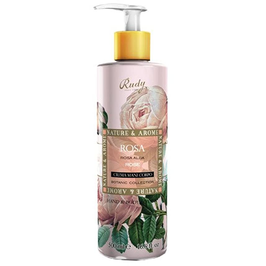 フィルタ肩をすくめる履歴書RUDY Nature&Arome SERIES ルディ ナチュール&アロマ Hand&Body lotion ハンド&ボディローション ローズ