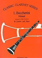 BOCCHERINI - Minueto Op.13 nコ 5 en La mayor para Clarinete y Piano (De Smet)