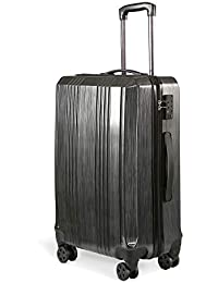 DEVAISE スーツケース キャリーバッグ キャリーケース 8輪キャスター TSAローク 軽量 耐衝撃 ファスナータイプ PP0121/0122/0123