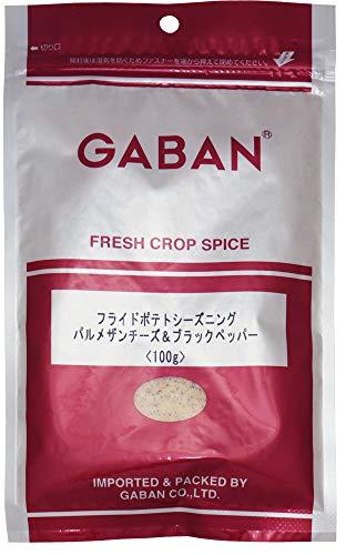 GABAN フライドポテトシーズニング(パルメザンチーズ&ブラックペッパー) 100g