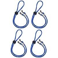 LIOOBO Sports Glasses Holder Chain Elastic Eyewear Retainer Polyester Universal Eyeglasses Strap 4PCS