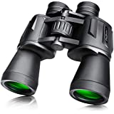 SkyGenius 10x50 Binoculars for Bird Watching, Compact Folding Clear Binocular for Hunting Hiking Sightseeing(1.76 lb)