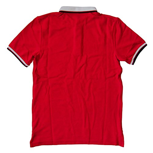 Nike マンチェスター・ユナイテッド オーセンティック ポロシャツ ディアブロレッド 607649-625 (S)