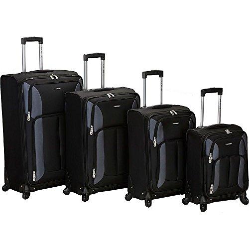 (ロックランドラッゲージ) Rockland Luggage メンズ バッグ キャリーバッグ 4 Piece Quad Spinner Luggage Set 並行輸入品