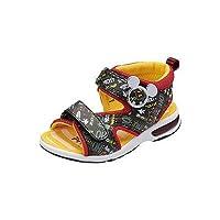 [ムーンスター] キッズサンダル ディズニー DN C1144 ミッキー ミニー シューズ 子供靴 18.0cm ブラック