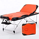 Multifunctional Foldable Massage Table, Luxurious Sofa Aluminum Alloy Lightweight Beauty Table, Physiotherapy/SPA/Reiki/Salon