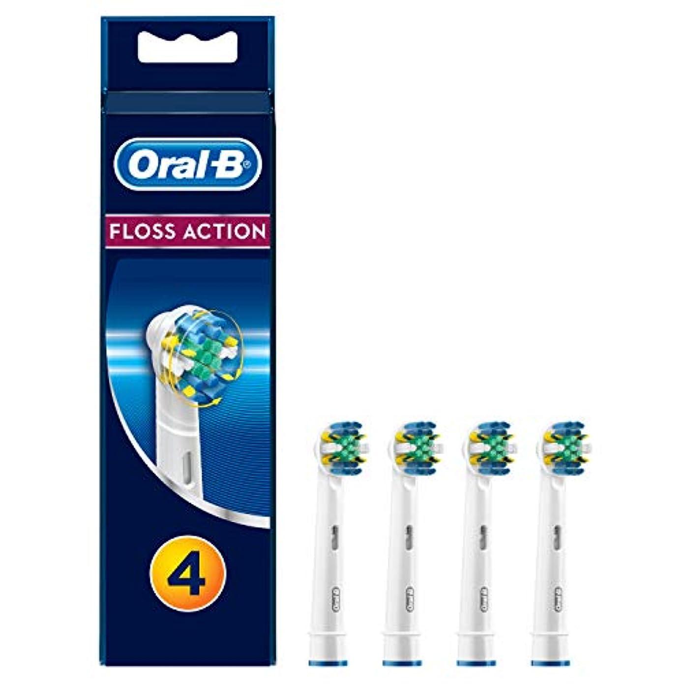 悲しい眉チョップブラウン Oral-B 歯間ワイパー付きブラシ 替ブラシ4本入 EB25-4 並行品扱い