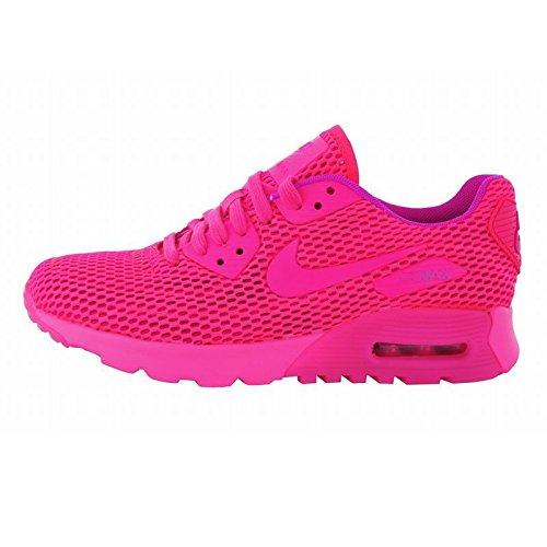 Nike Air Max 90 에어맥스90 Ultra Breathe 울트라 breath 레이디스 (핑크, 24.5cm) [병행수입품]-