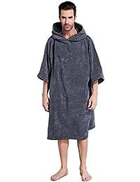 Winthomeお着替えポンチョ タオル サーフィンポンチョ お着替えタオル 速乾吸水 長袖 防寒 全5色