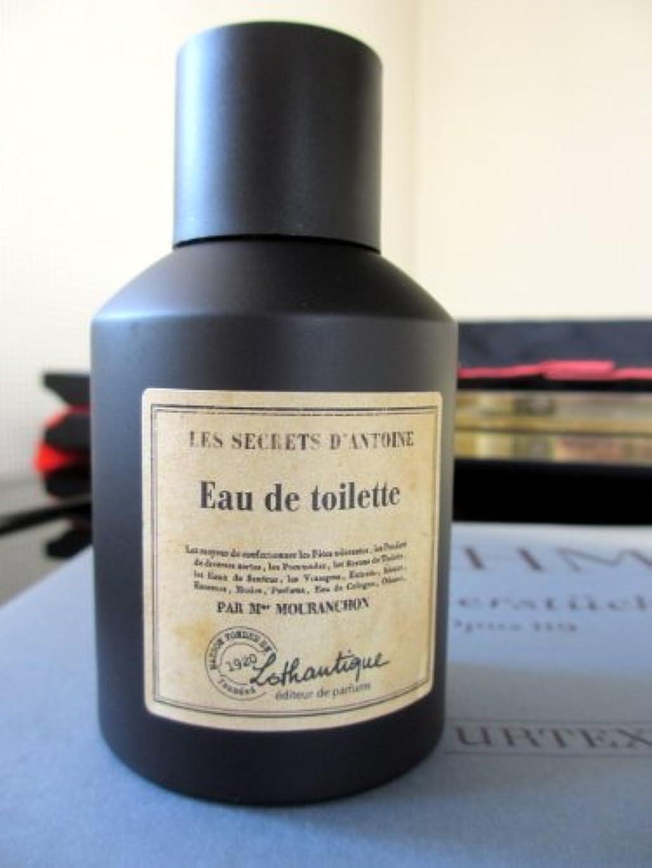 常習的横懺悔Lothantique(ロタンティック) LES SECRETS D' ANTOINE(シークレットアントワーヌ) オードトワレ 100ml 3420070037008