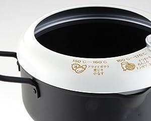 ヨシカワ 天ぷら鍋 温度計付き 日本製 あげた亭 20cm SH9257