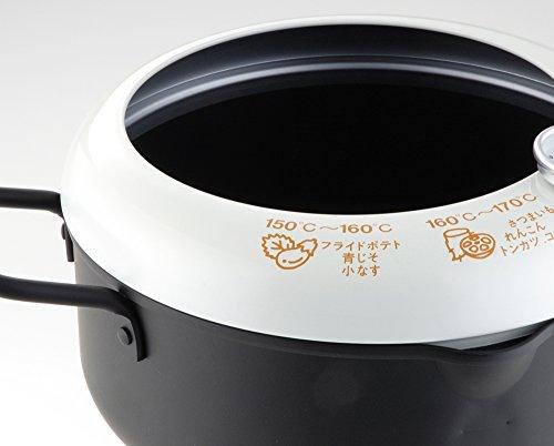 天ぷら鍋 温度計付き 日本製 あげた亭 20cm SH9257 2枚目のサムネイル