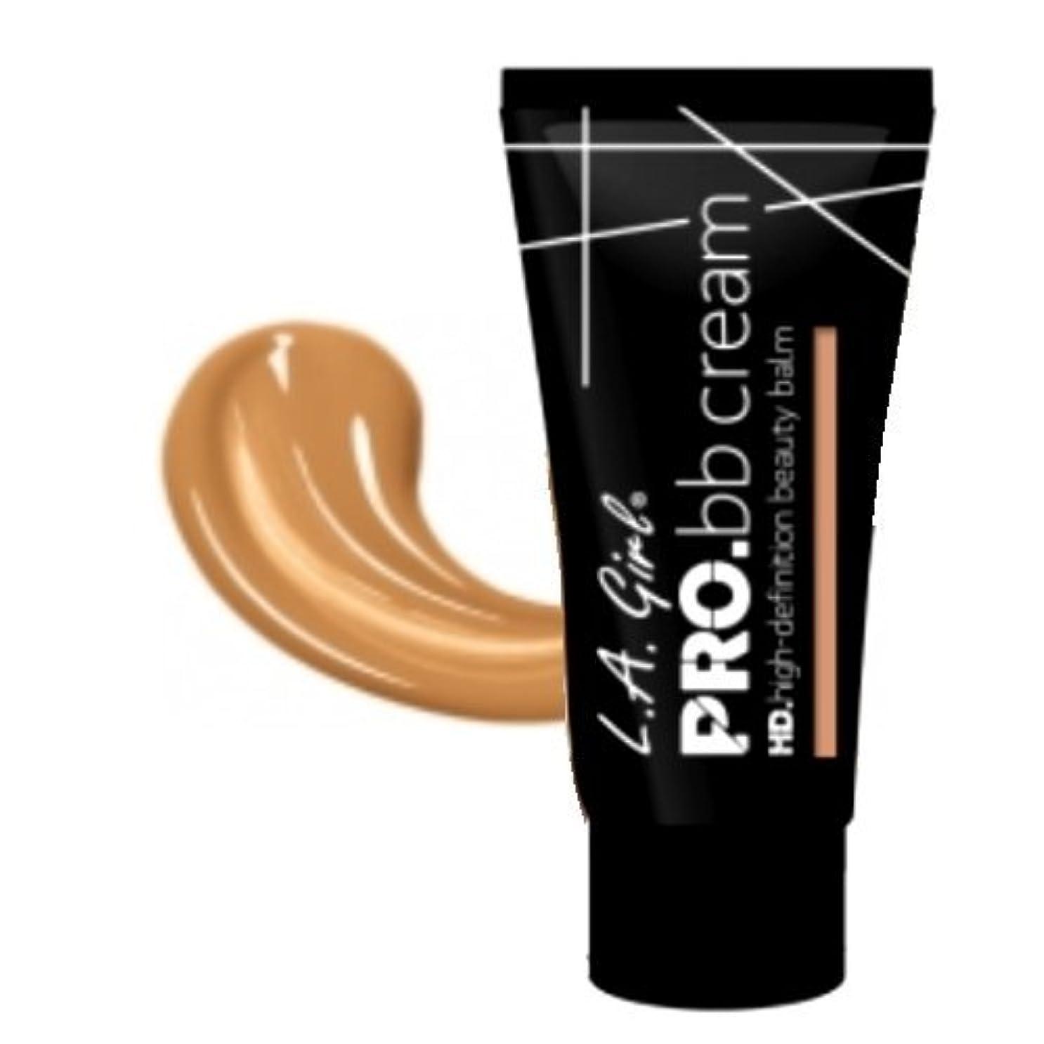 締め切りマーキング遷移(6 Pack) LA GIRL HD Pro BB Cream - Medium (並行輸入品)