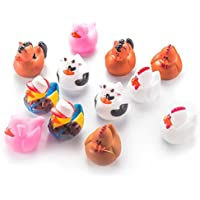 Fun Central AZ978 Farm Animal Rubber Duck - 12 ct [並行輸入品]