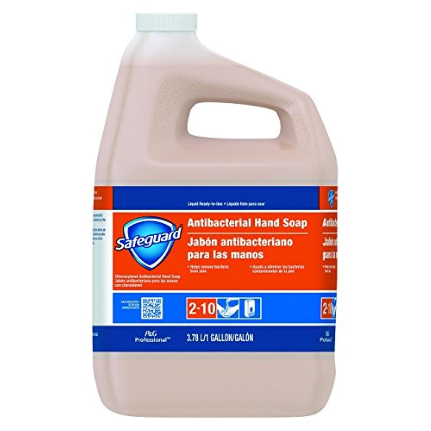 摩擦無限レバーSafeguard抗菌Liquid Hand Soap , 1 galボトル、2 /カートン