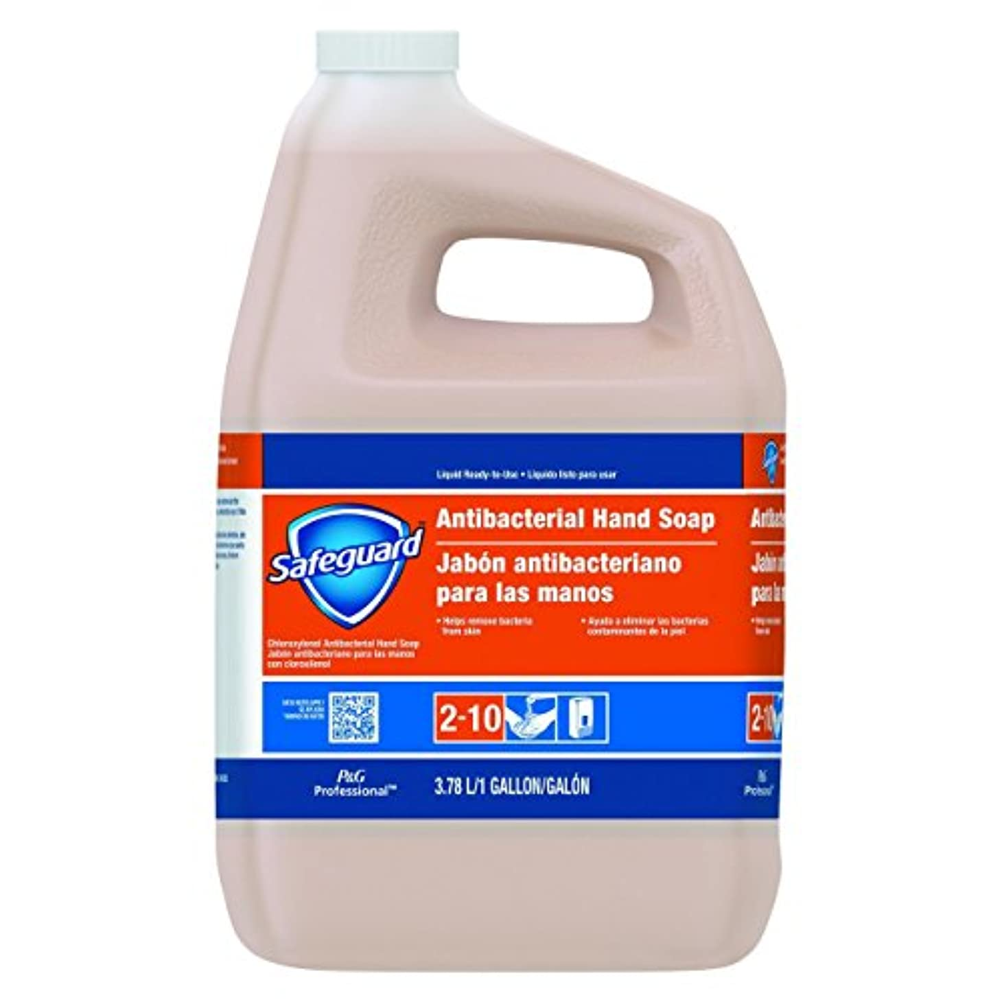 起きる厄介なバイオリンSafeguard抗菌Liquid Hand Soap , 1 galボトル、2 /カートン