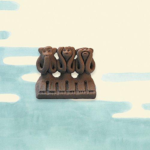 海洋堂×中川政七商 日本全国 まめ郷土玩具蒐集 第四弾 熊本県【木の葉猿】<単品>
