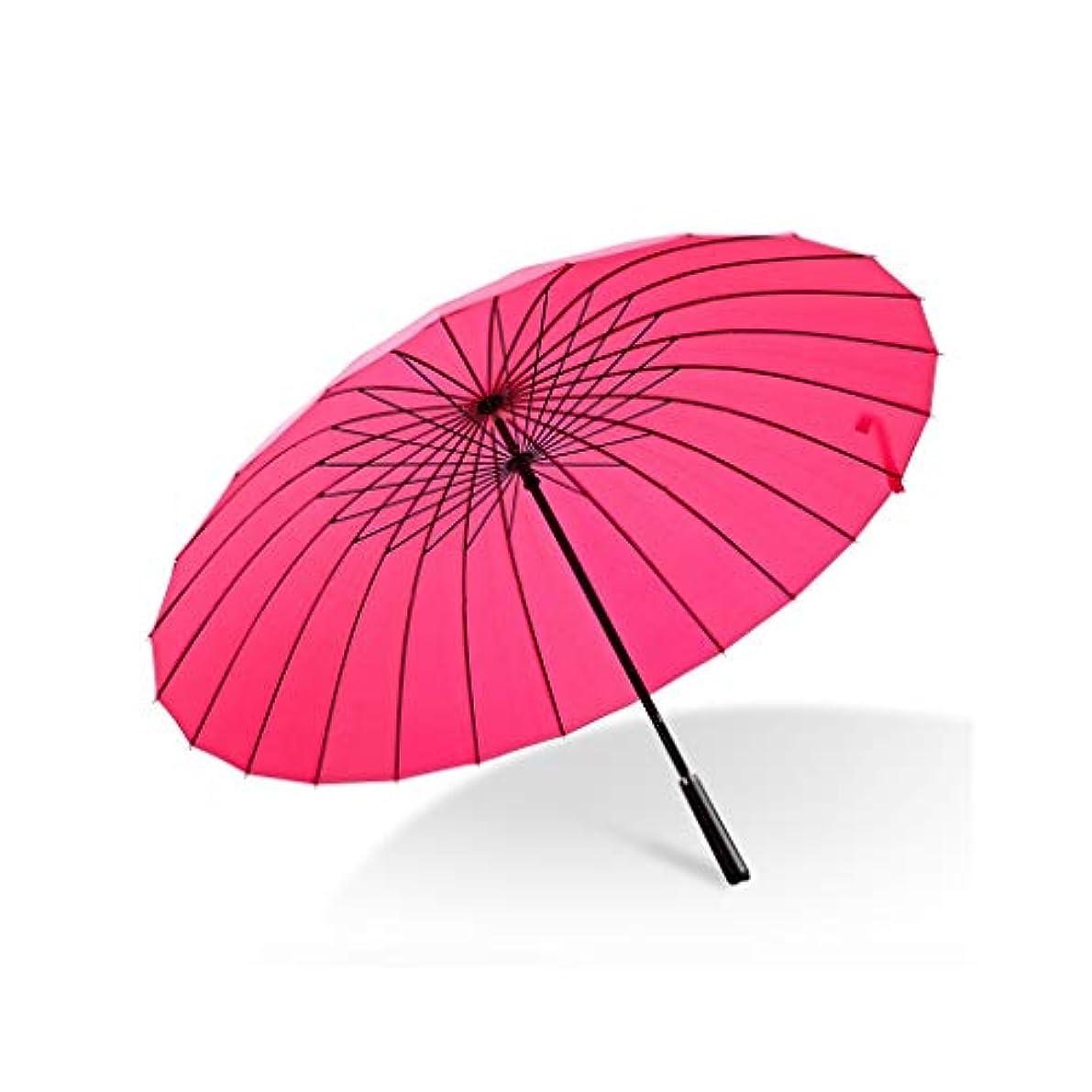 入手します原告位置する男性と女性のための日傘傘UV傘家庭用傘折りたたみ屋外専用の小さくて便利な日よけ日焼け止め防水日傘(黒) (色 : ピンク)