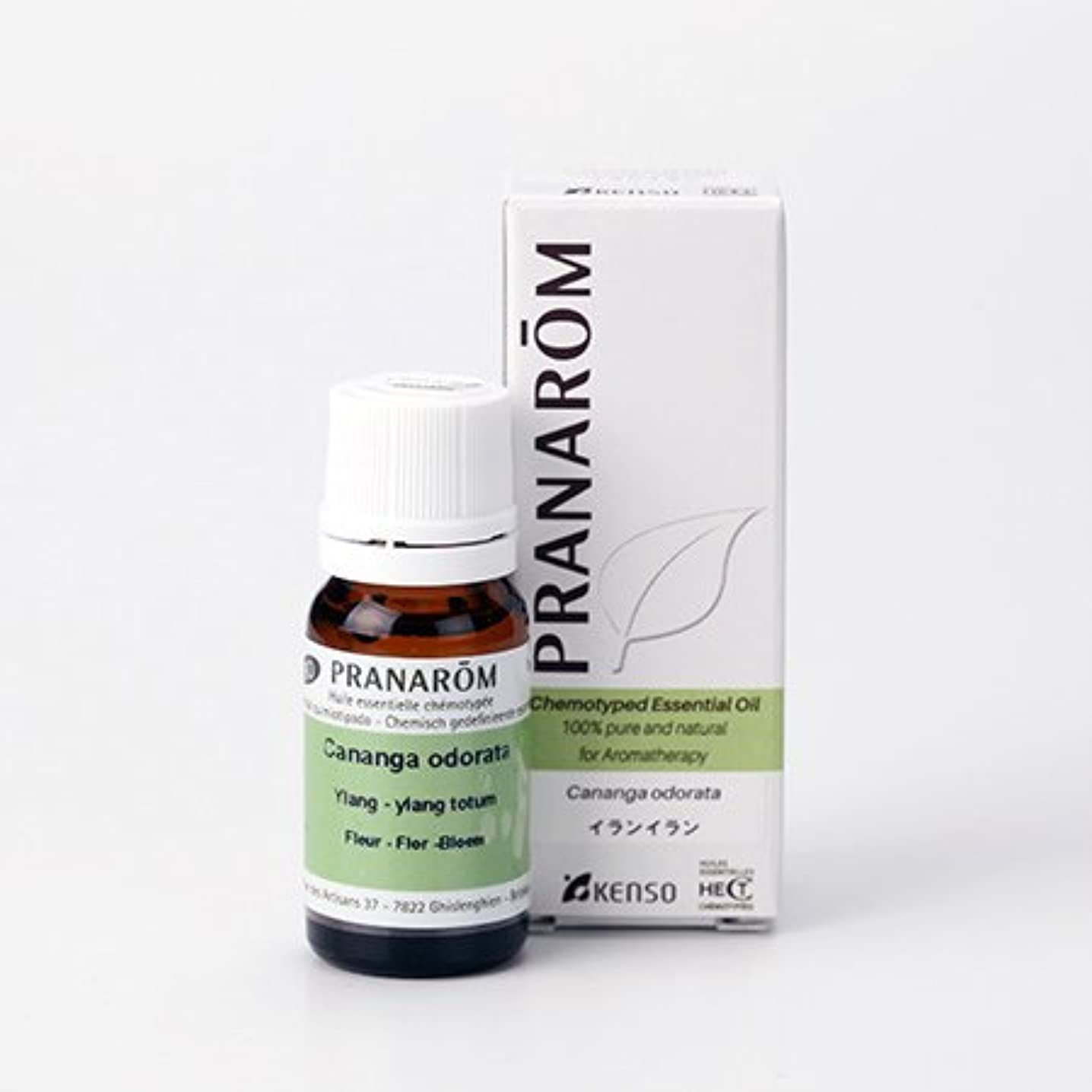 対体細胞踏み台プラナロム イランイラン 10ml (PRANAROM ケモタイプ精油)