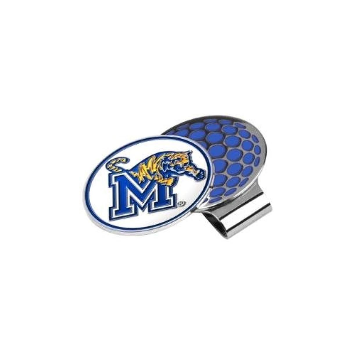 レギュラーショップコーラスNCAA Memphis Tigersゴルフ帽子クリップとボールマーカー、1サイズ