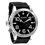 ≪NIXON≫ニクソン 51-30 PU 300m防水 マリンライダー ウレタンベルトウォッチ メンズ A058-000