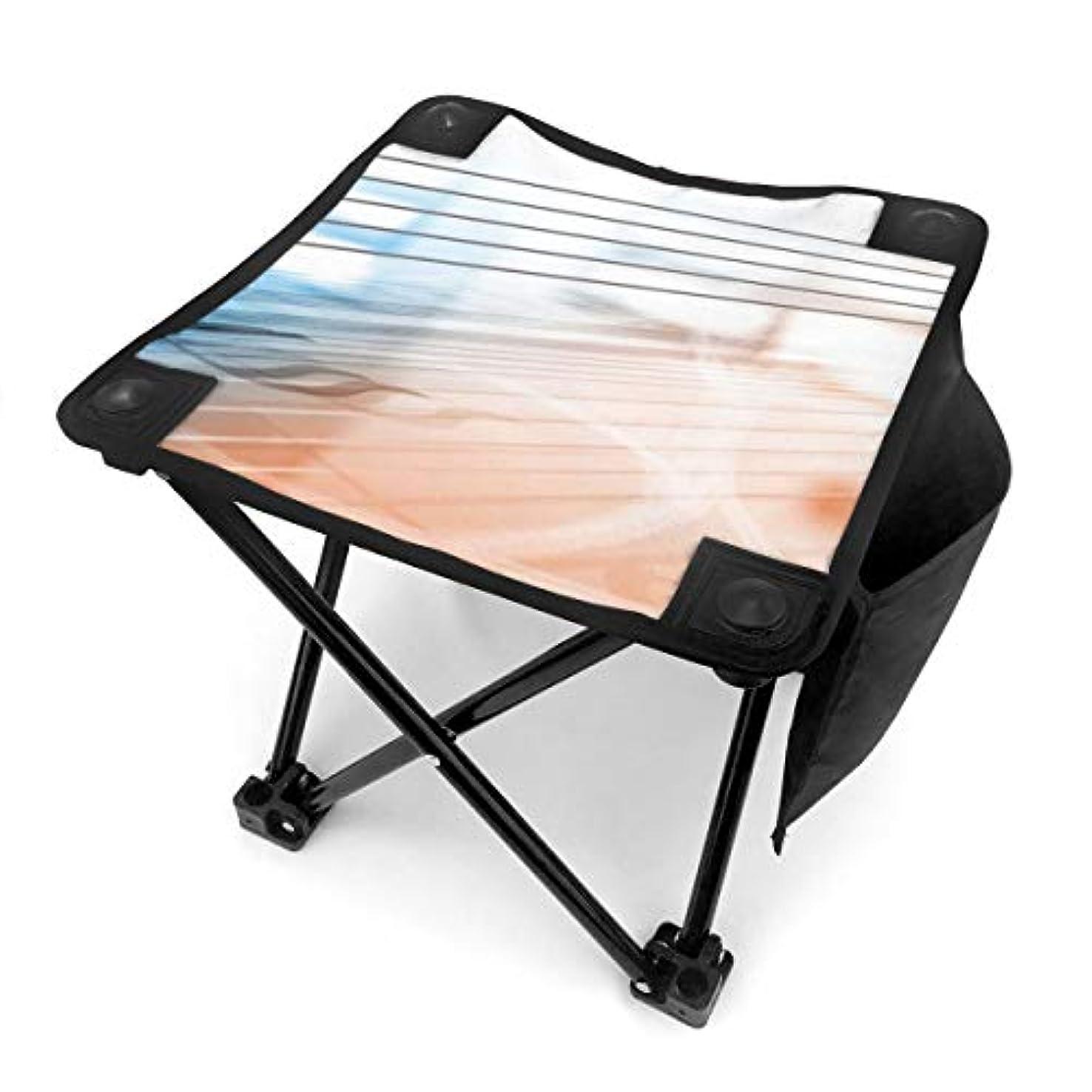 上陸物理学者グローバル折りたたみ椅子 音符 アウトドアチェア 収納バッグ付き アウトドアチェア 折り畳み式 椅子 折りたたみ コンパト椅子 キャンプスツール 携帯便利 旅行用/お釣り/キャンプ/アウトドアなど対応